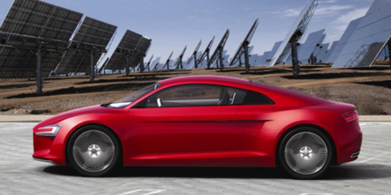 Audi E-Tron Nummer 1; Bild: Hersteller