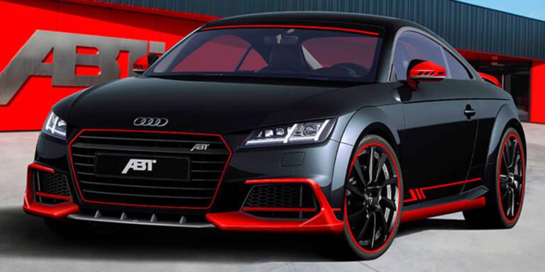 Neuer Audi TT mit Bodykit und 310 PS