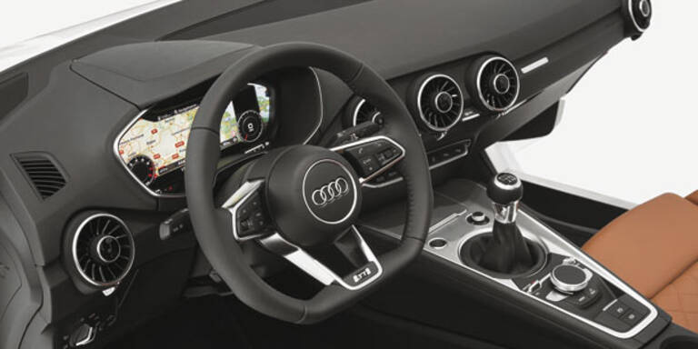 Neuer Audi TT kommt mit Hightech-Cockpit