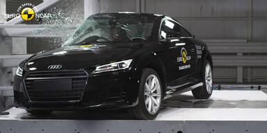 Nur 4 Sterne für neuen Audi TT