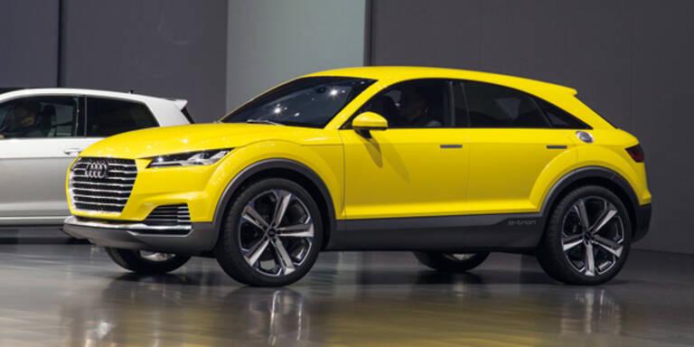 Audi bringt neuen TT auch als SUV