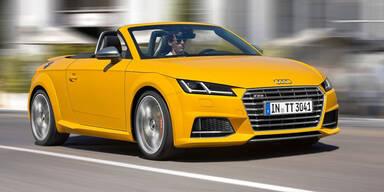 Weltpremiere des Audi TT Roadster