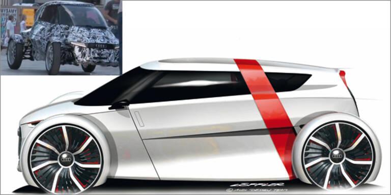 "Update: Audi zeigt E-Auto  ""urban concept"""
