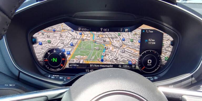 Mercedes, BMW & Audi planen Super-Navi