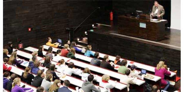 Studenten-Zahl an den Unis wächst rasant