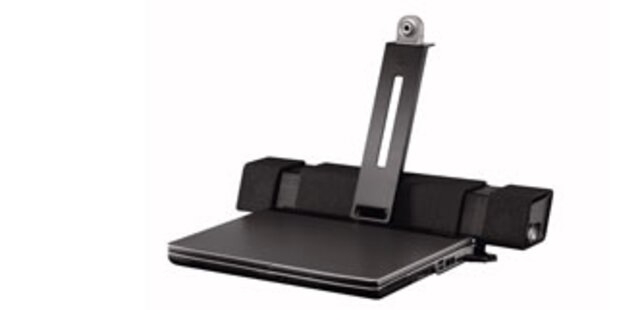 Logitech stellt 2.1-Lautsprecher für Notebooks vor