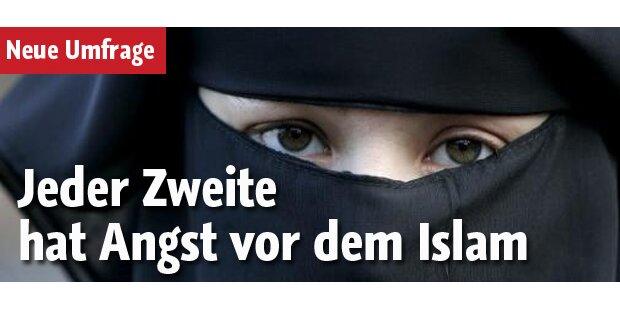 Jeder Zweite hat Angst vor dem Islam