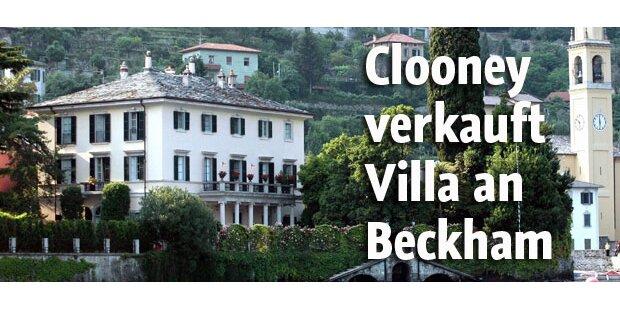 Beckham bald in Clooneys Italien-Villa?