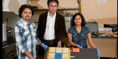 Forscher entwickeln Akku zum Aufsprühen