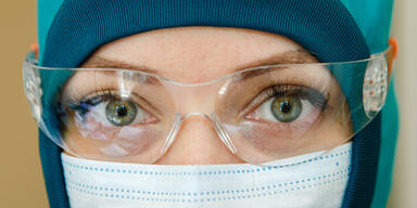 Coronavirus tritt auch durch das Auge in den Körper
