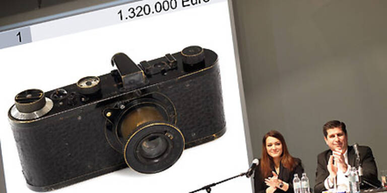 Diese Leica: Teuerste Kamera aller Zeiten