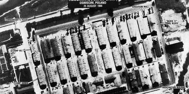 Plan des Konzentrationslagers Auschwitz (c) AP
