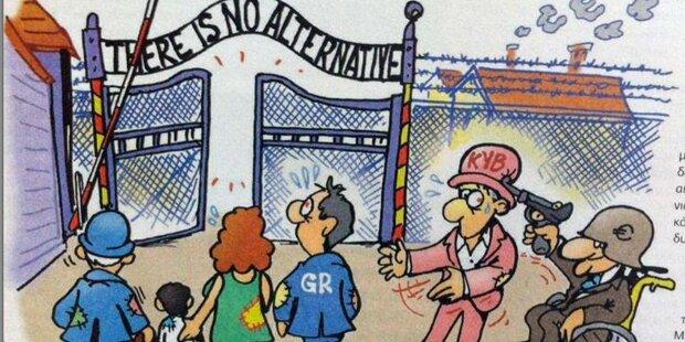 Zeitschrift schockt mit Auschwitz-Vergleich