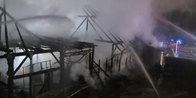 Großbrand in Baumarkt war gelegt