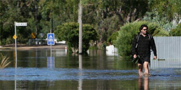 Australien bis Februar unter Wasser
