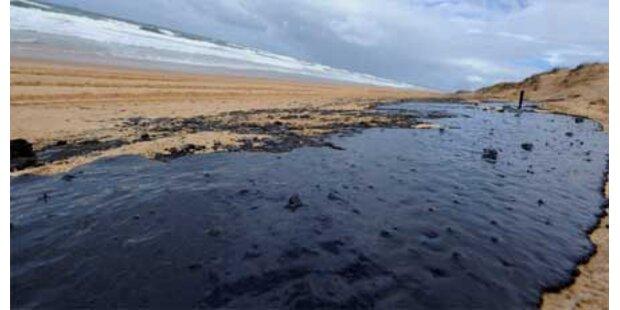 Öl verschmutzt 60 km Küste in Australien