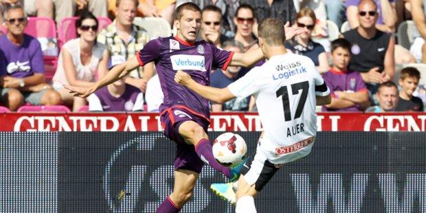 Austria holt 2:0 gegen Polsters Admira