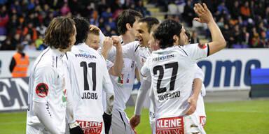 0:4 - Erfolgslauf der Austria gestoppt