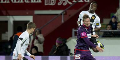 Austria verspielt gegen Admira 2:0-Vorsprung