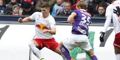 Meister Salzburg schlägt Austria klar 3:1