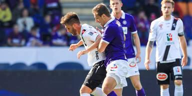 Austria holt nur 1:1 gegen Wolfsberg