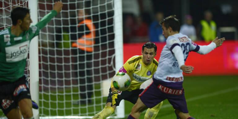 Austria hinkt in Liga weiter hinterher