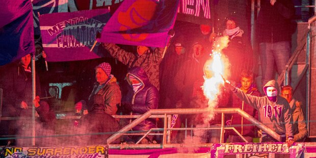 Fan-Mob wollte Austria-Kabine stürmen