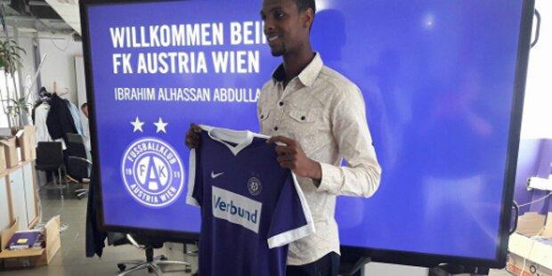 Transfercoup: Austria holt Nigeria-Teamstürmer