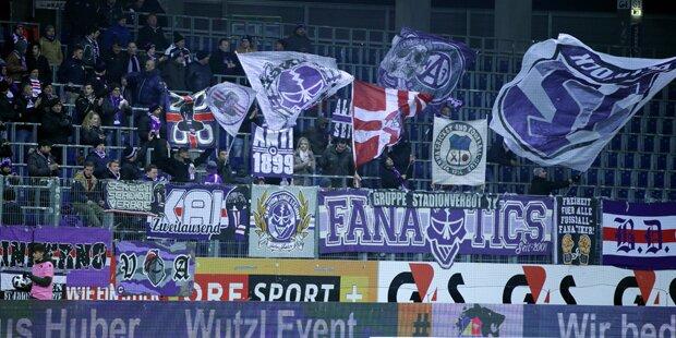 Austria-Fans wollen Spieler 'besuchen'