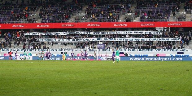Austria: Fans auf den Barrikaden