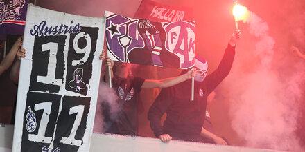 Derby-Fan-Skandal: Austria greift hart durch