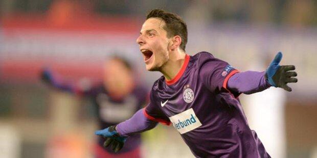 Austria feiert 4:1-Sieg gegen Zenit