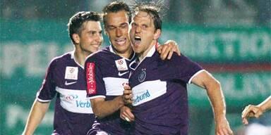 Austria schlägt Rapid im Derby mit 1:0