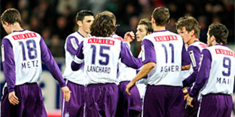 Austria vor Panionios-Match zuversichtlich