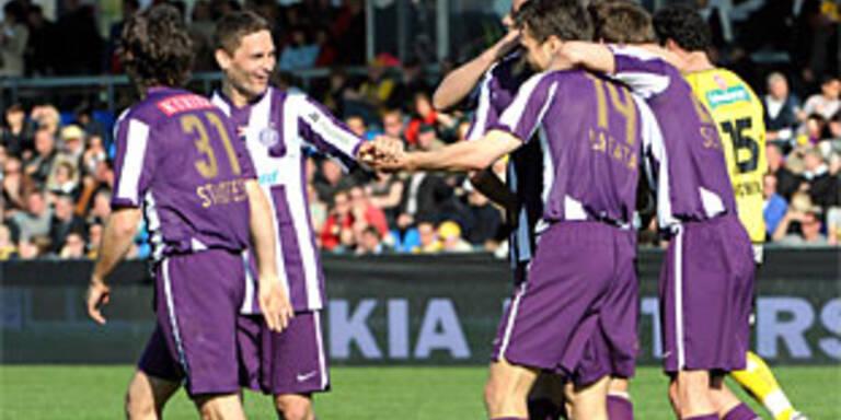 Rekordsieg für Austria