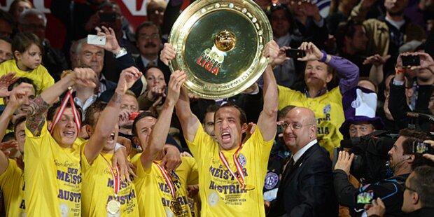 Austria Wien holt den Titel