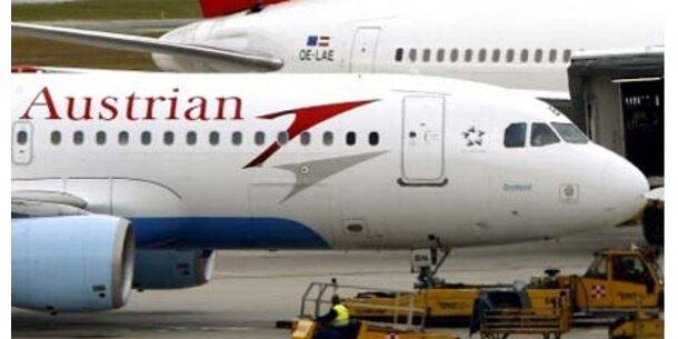 AUA schwächer als Lufthansa