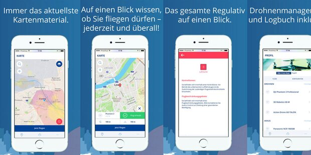 Austro-Control-App für Drohnen-Besitzer