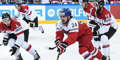 Österreich gegen Tschechien chancenlos
