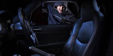 Heimische Autofahrer animieren Einbrecher