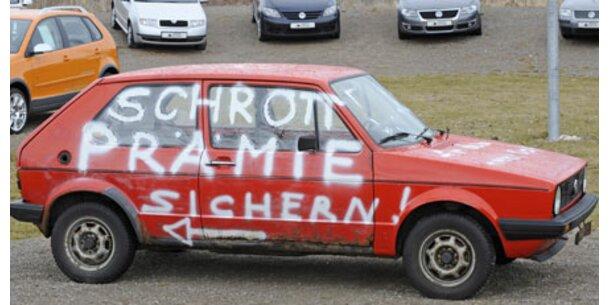 Deutsche Schrottprämie aufgebraucht