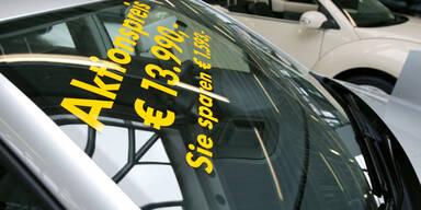 Autohändler starten finale Rabattschlacht