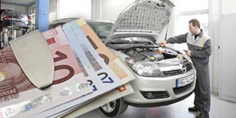 Extreme Preisunterschiede bei Autowerkstätten