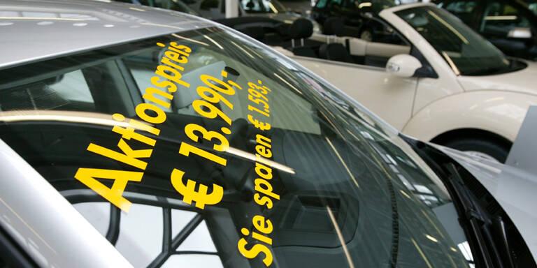 Wegen Corona: Neuwagen werden billig wie nie