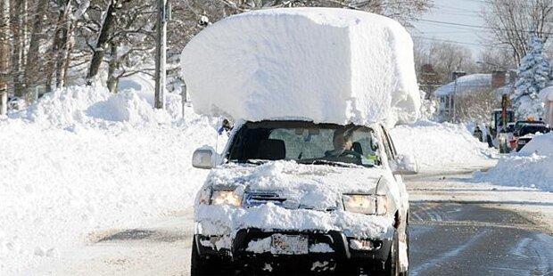 New York versinkt in tödlichem Schneesturm