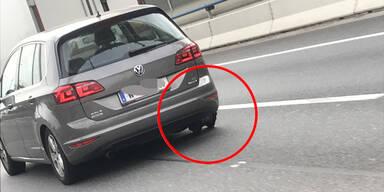 Zwei Wiener retten Lenker (80) mit fehlendem Reifen das Leben