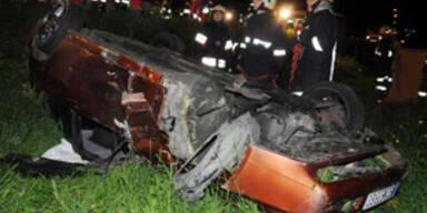 Kärntner nach 60-Meter-Absturz mit Auto unverletzt