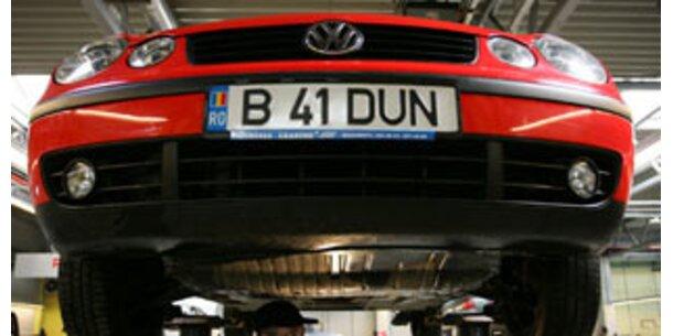 Notkredite für Auto-Produzenten