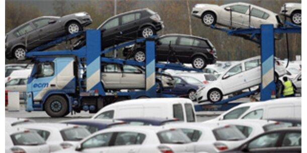 Auto-Verkäufe in EU im November um ein Viertel zurückgegangen