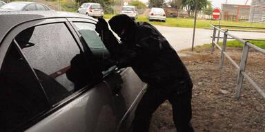 Das sind die Tricks der Auto-Einbrecher